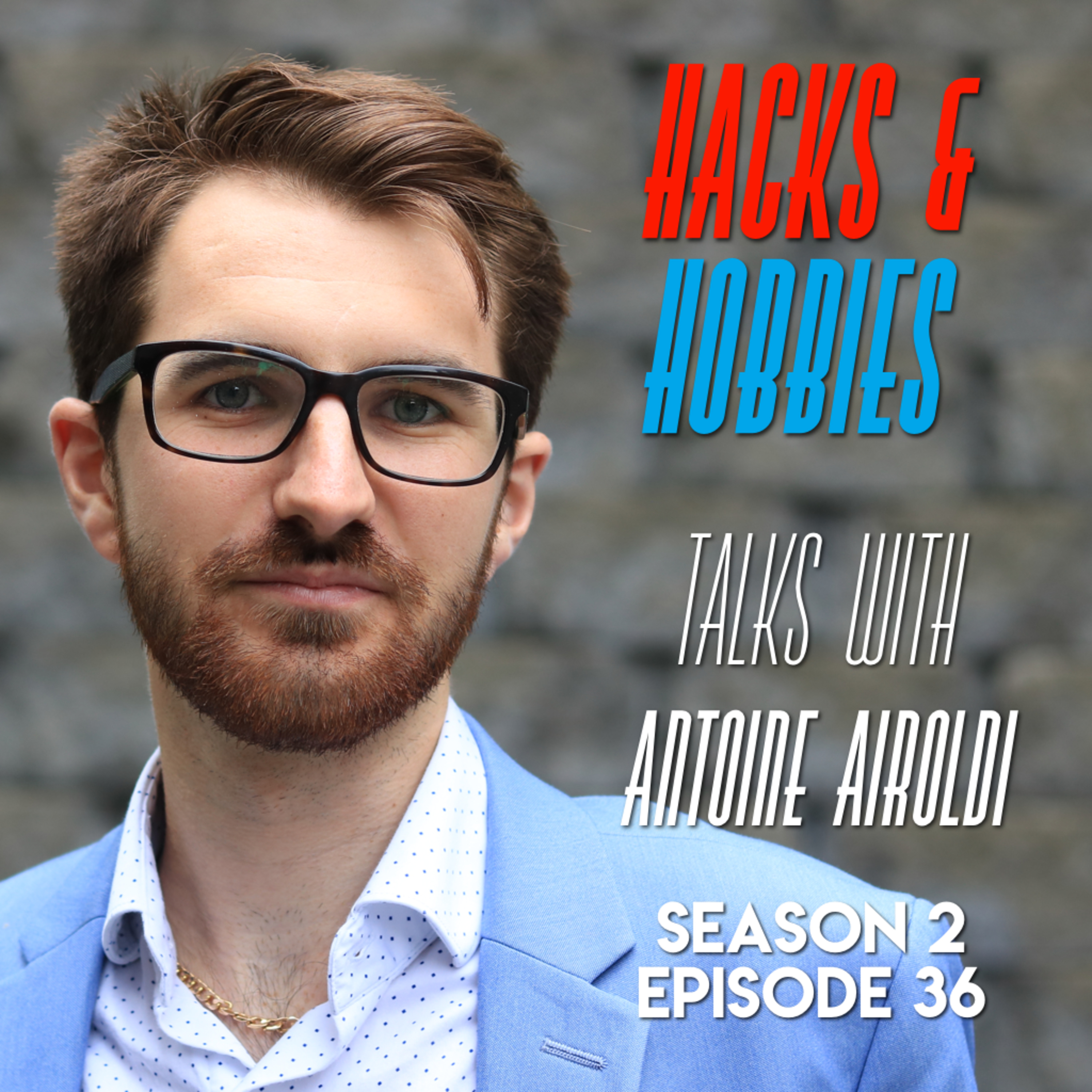 E236 – Antoine Airoldi – How to write a book in 90 days, be inspired and start one today!