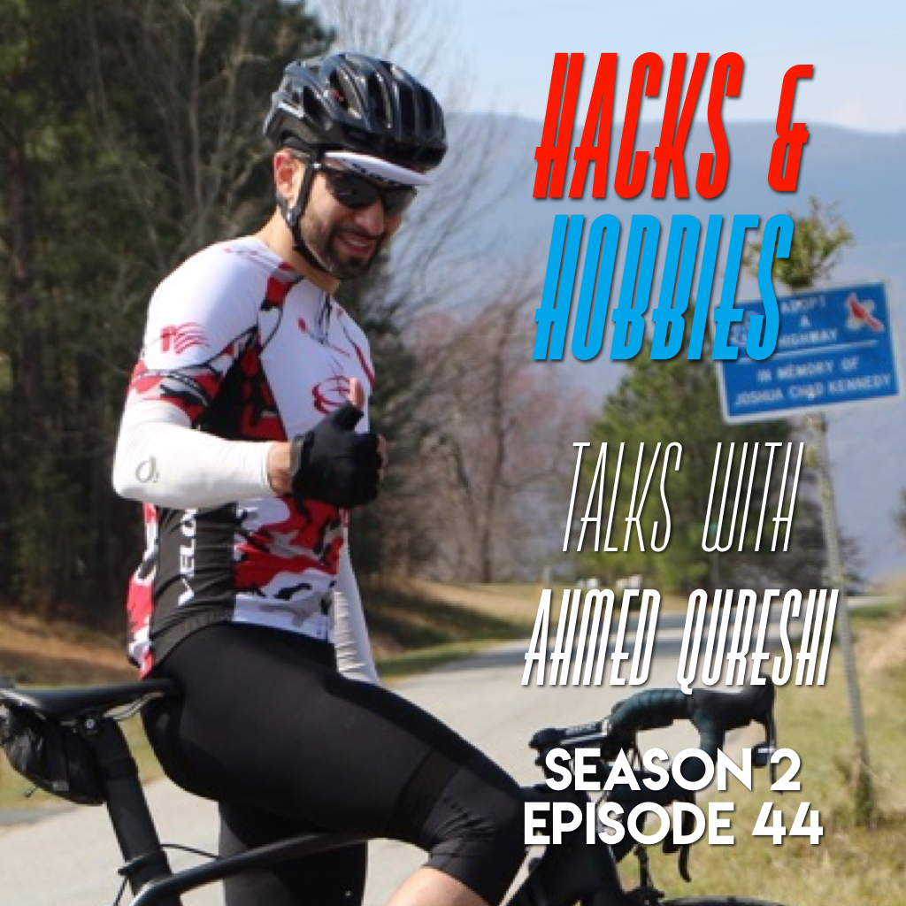 E244 – Ahmed Qureshi – How KETO can help you get faster on a bicycle and live a healthier life.