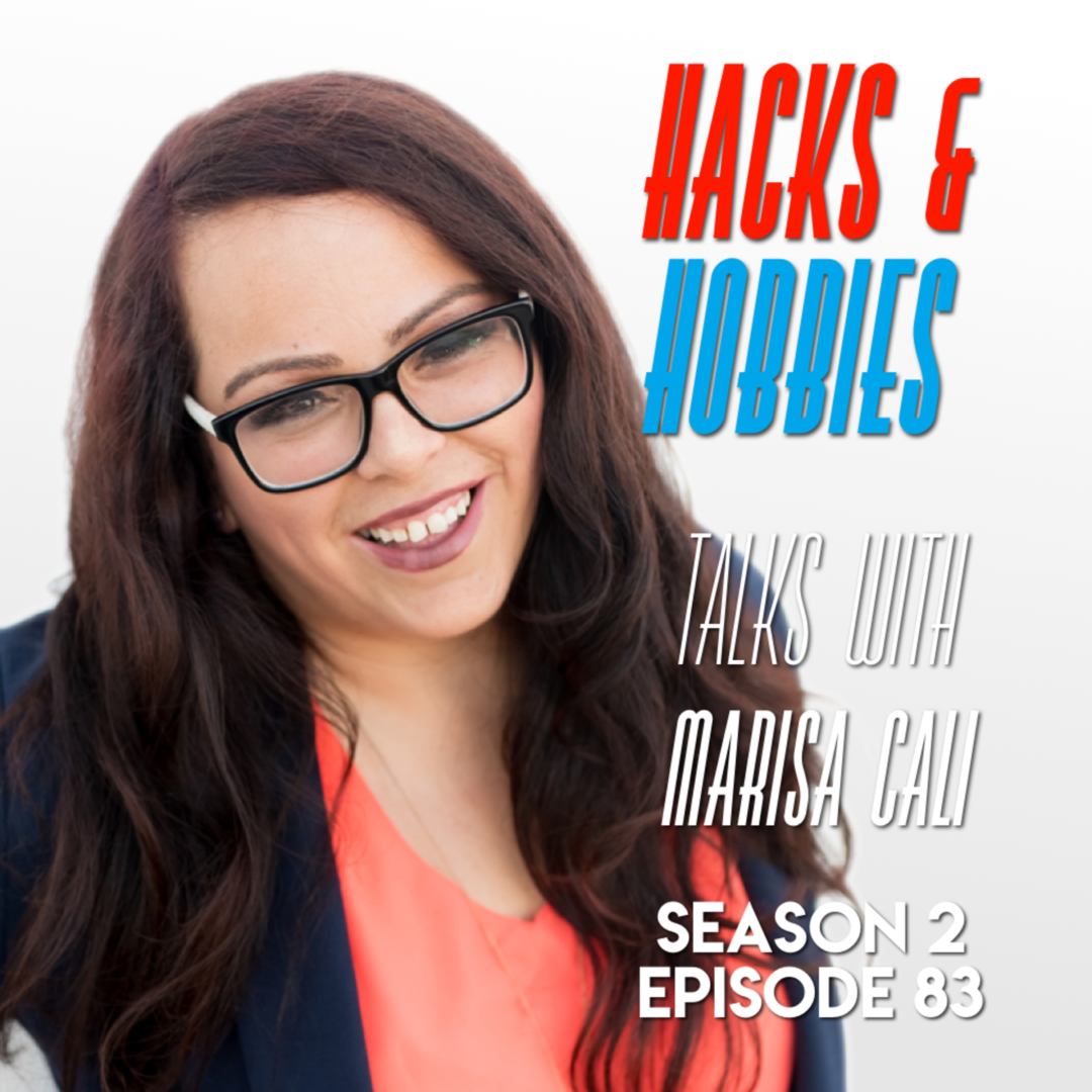 E283 – Marisa Cali – How to create your business from the ground.