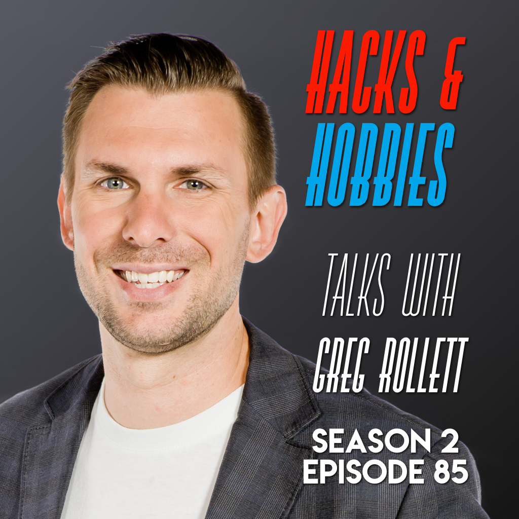E285 – Greg Rollet – How to create leverage and value by building your brand and audience