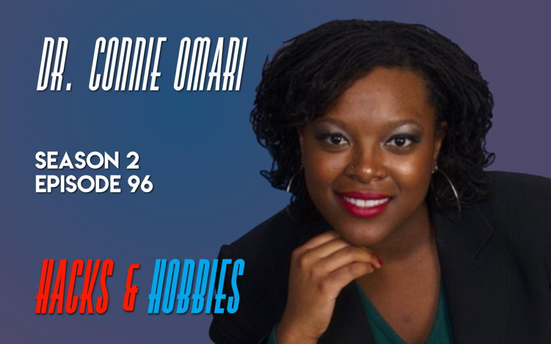 E296 – Dr. Connie Omari – How a licensed counselor is helping Mental Health issue in trauma survivors