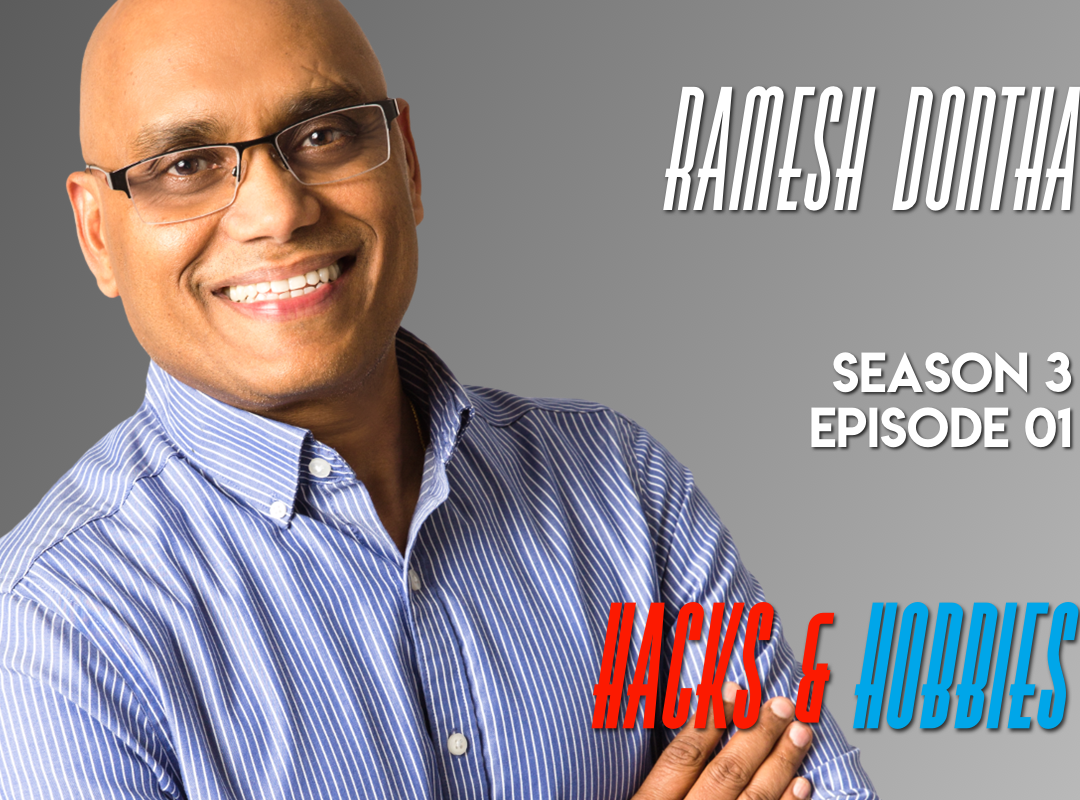 E301 – Ramesh Dontha – How to launch a Startup in 60-minutes