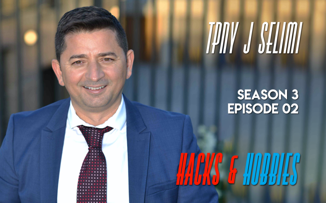 E302 – How to breakthrough life's greatest personal challenges with Tony J Selimi