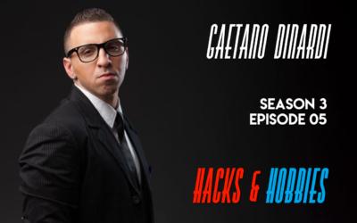 E305 – Gaetano Dinardi – How to build digital marketing expertise through music, SEO and exploration.