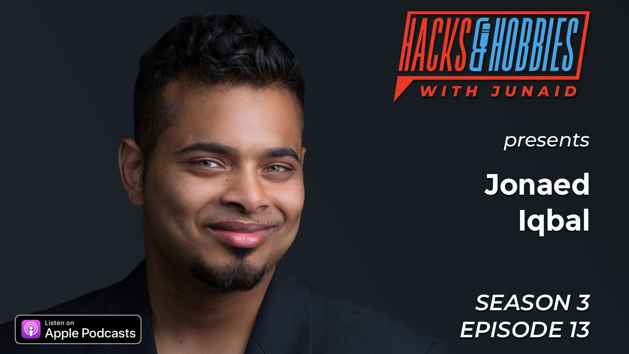 E313 – Jonaed Iqbal – How to get a job even if you don't have a degree.