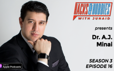 E316 – Dr. A.J. Minai – How to use your humanity to become the best version of yourself.