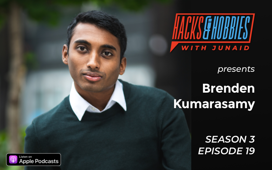 E319 – Brenden Kumarasamy – How to Master Your Talk and overcome the fear of Public Speaking