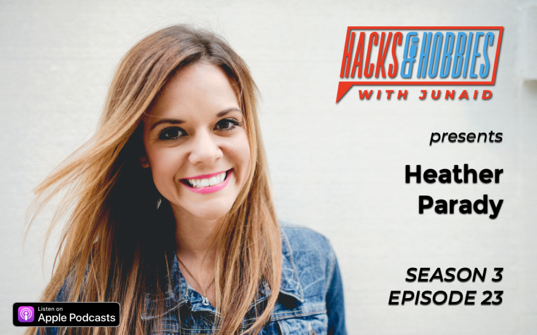 E323 – Heather Parady – How to create power with your mind, by focusing on mental health.