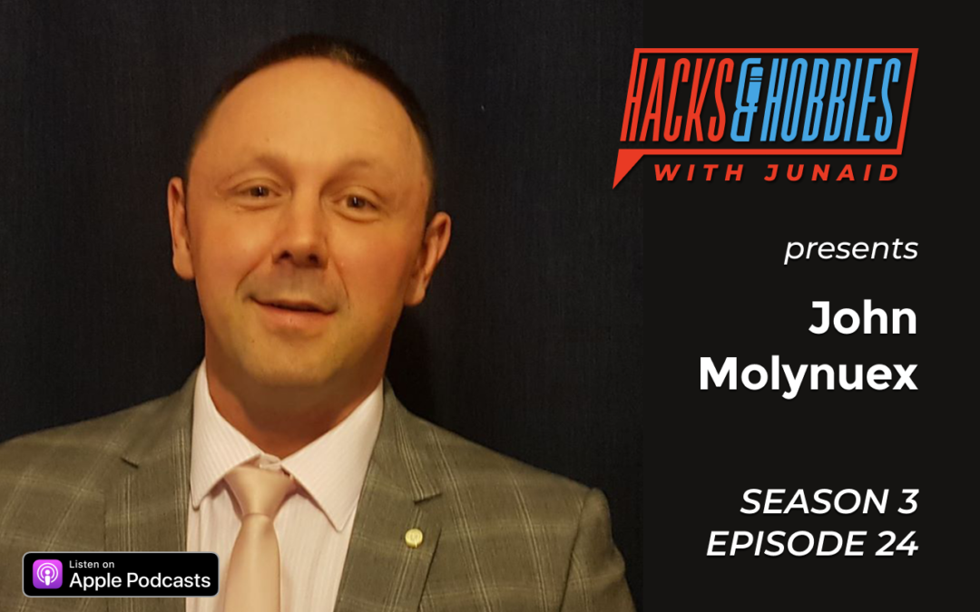 E324 – John Molyneux – How to get started in the sales industry and become a sales samurai.