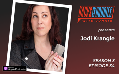 E334 – Jodi Krangle – How to become a Voice Over Actor and Find your Time Freedom
