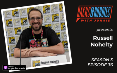 E336 – Russell Nohelty – How your love for writing magic and mythology can help you raise money