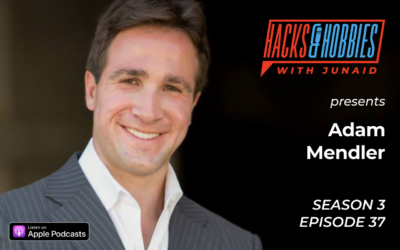 E337 – Adam Mendler – How to bridge gaps through serial entrepreneurship
