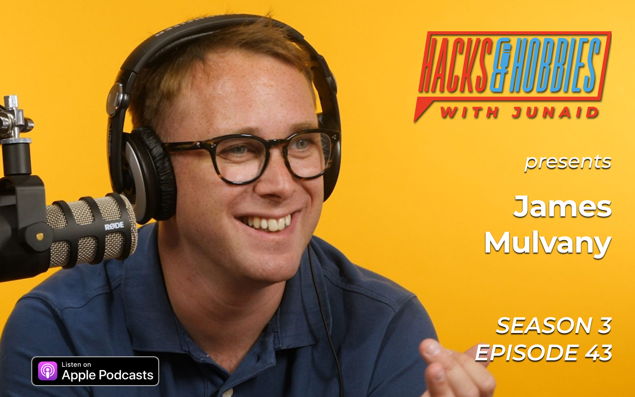 E343 – James Mulvaney – How to build an audience by being a guest on podcasts