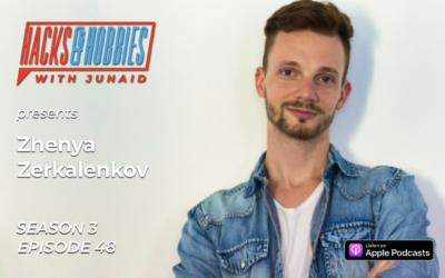 E348 – Zhenya Zerkalenkov – How to drive massive traffic to your website with Pinterest