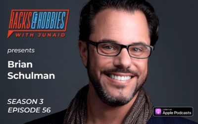 E356 – Brian Schulman – How to overcome adversity to voice your vibe and finding your tribe.